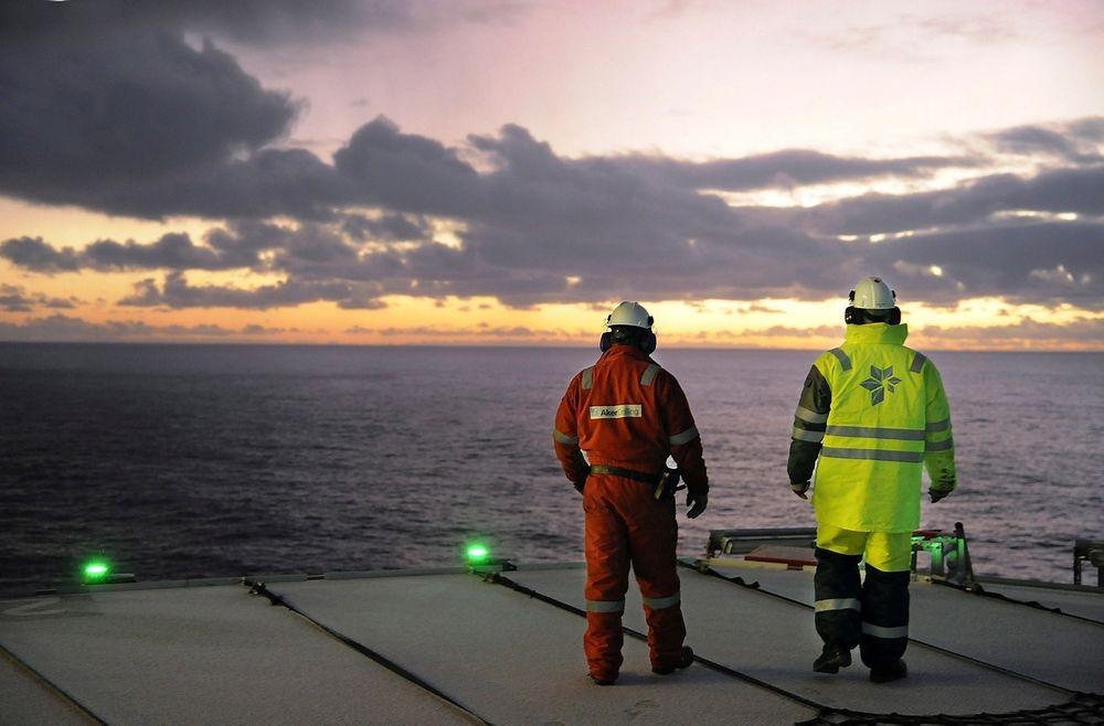 Oljeindustrien har fått nye områder tilgjengelige i Barentshavet. Her fra en av Statoils operasjoner i området.