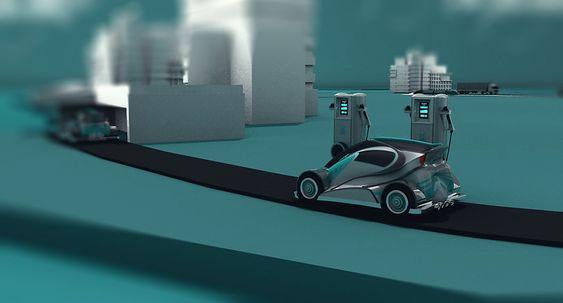 2040-SCENARIO: De siste fossildrevne personbilene vil ha forlatt veiene. Kun noen få klenodier eller veteranbiler er igjen. Utslippsfrie biler kan kjøre over store avstander – med hydrogen eller elektrisitet – uten at bilistene trenger bekymre seg.