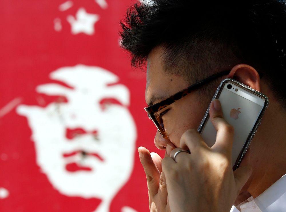 Smarttelefonen iPhone kommer i salg i Kina neste år.