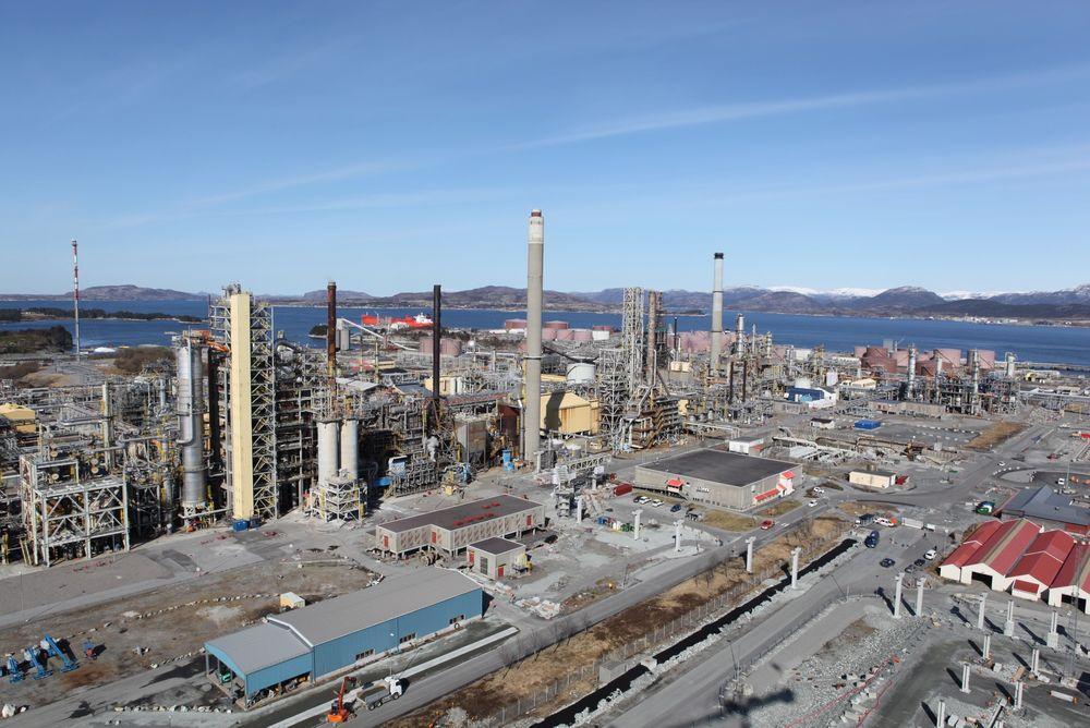 Anbefalt: Johan Sverdrup-partnerskapet anbefaler Mongstad fremfor Sture til å ta i mot Sverdrup-oljen. Foto: Arkiv