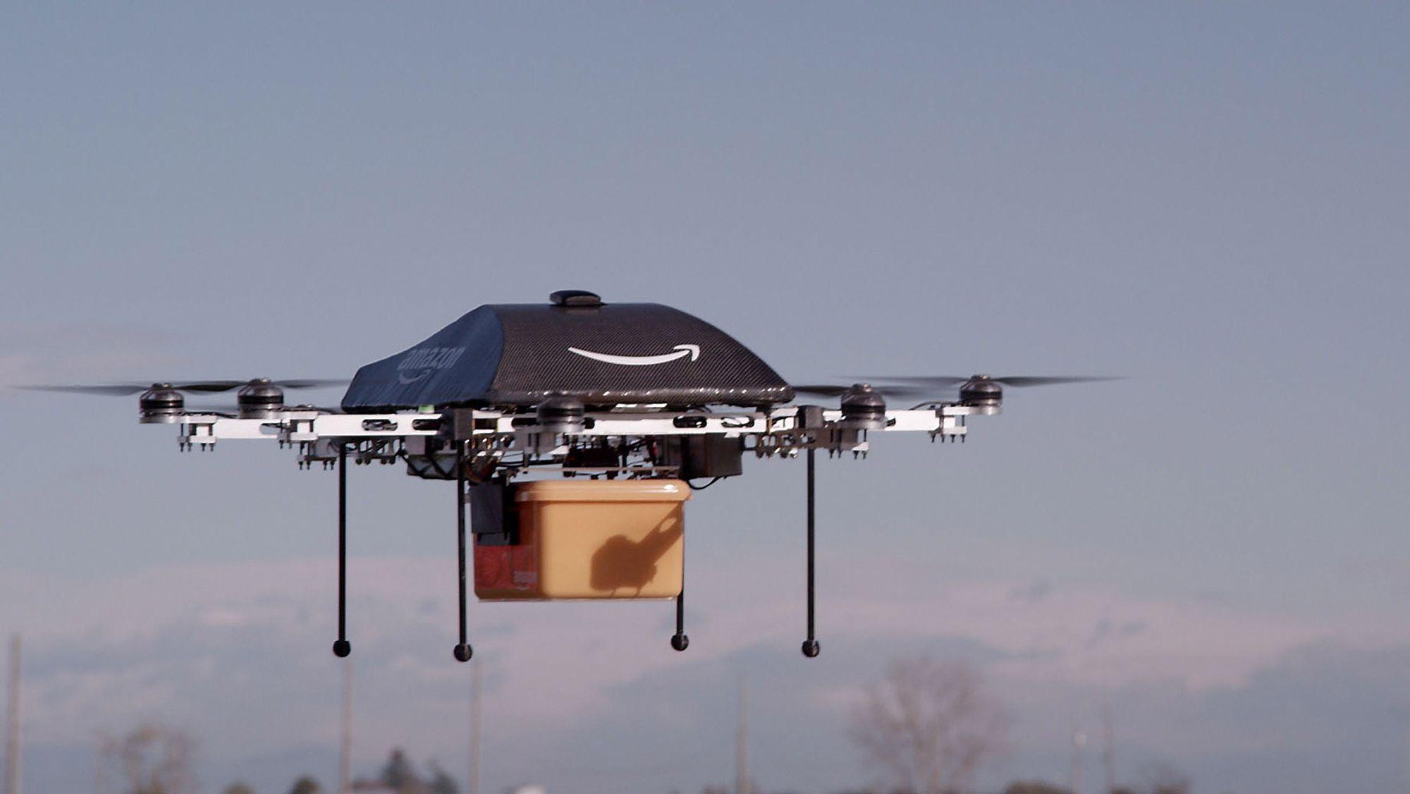 Bilderesultat for postleverende droner