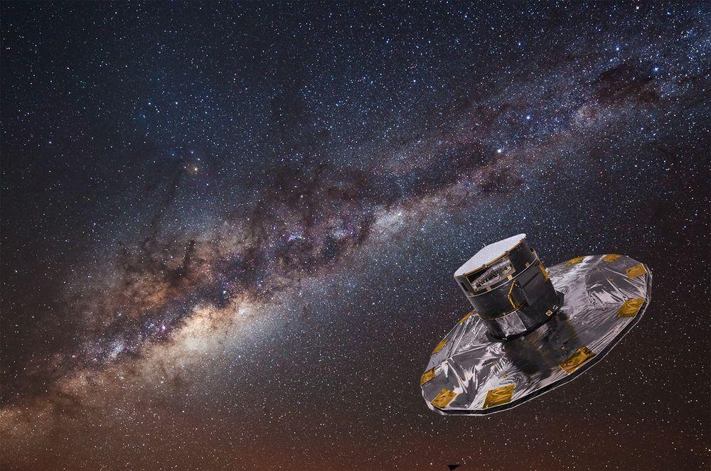 Klokken 10.12 i dag sendte den europeiske romorganisasjonen ESA opp romobservatoriet Gaia med en Soyuz-rakett.