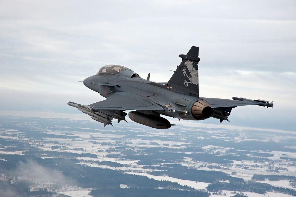 Saabs Jas-39 E/F-testfly.