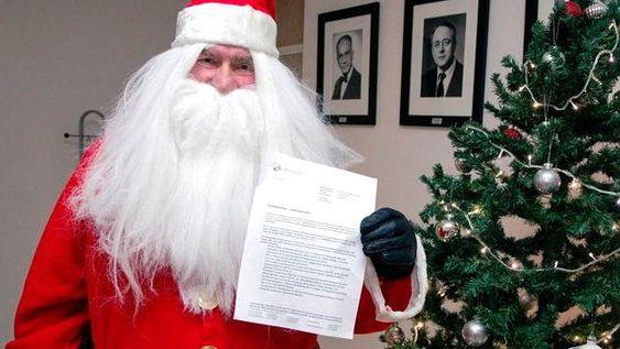Tillatelse: Julenissen har fått de nødvendige tillatelser til å operere i norsk luftrom. Foto: Luftfartstilsynet