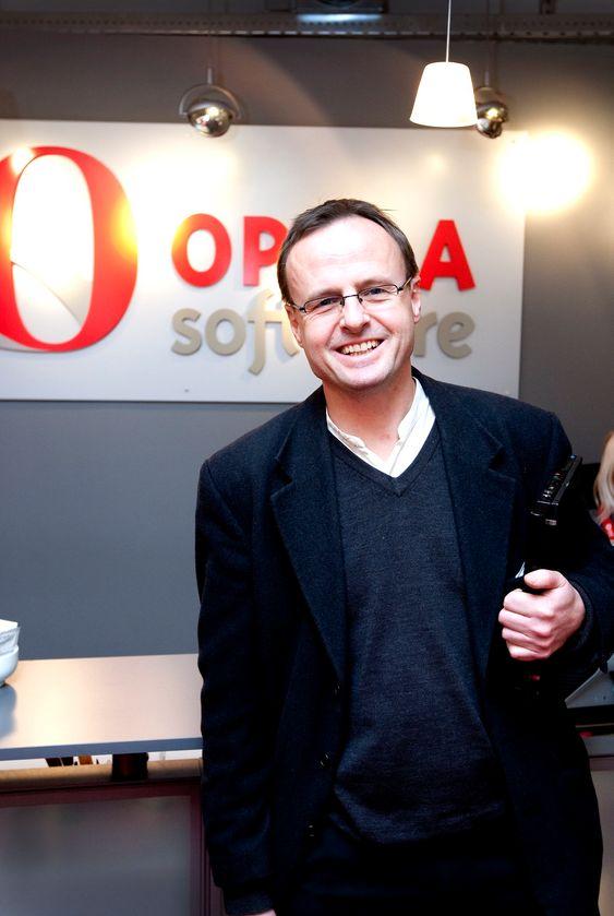 OSLO  20100215. Håkon Wium Lie i Opera Software.Foto: Gorm Kallestad / Scanpix