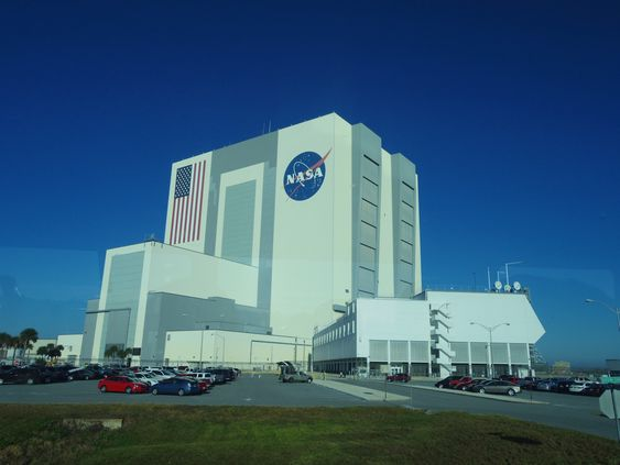 Hjemme hos NASA.