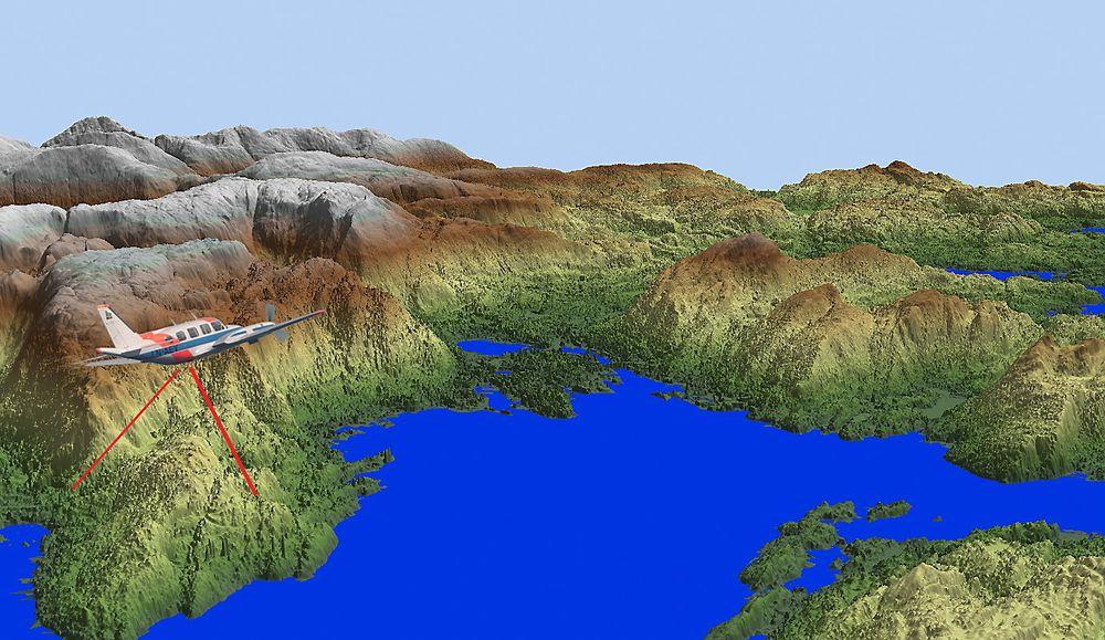 kart norge 3d Kartverket vil lage 3D modell av terrenget i hele Norge   Tu.no kart norge 3d