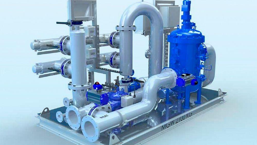 Optimarin spesialiserer seg på å lage rensesystemer for vannballast på skip.