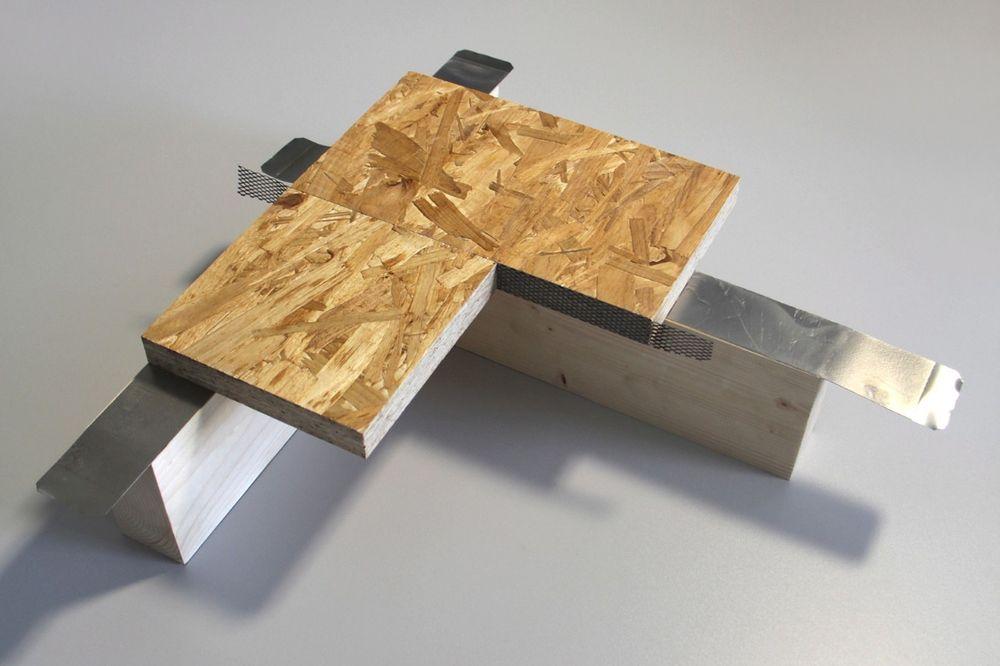 Tyske forskere har funnet en teknikk for å sammenføye tre ved hjelp av tape istedenfor skruer eller spiker.