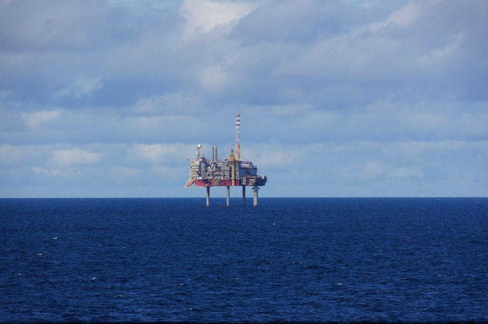 Forlatt: Yme-plattformen står fremdeles tom ute i Nordsjøen.