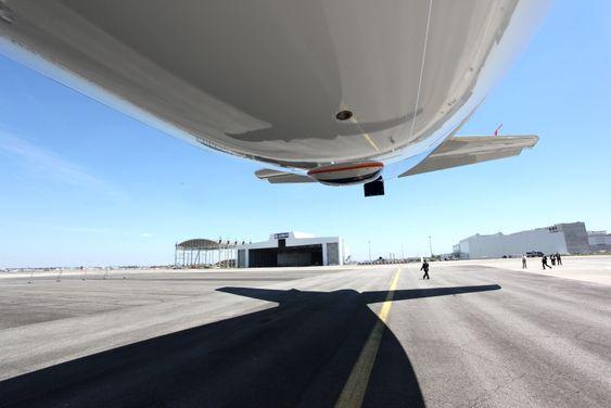 Airbus bygger en ny hangar for testflåten på fem A350, der de skal etterligne operasjonelle forhold for et flyselskap.