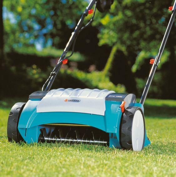 Mosemorder: Gardenas elektriske plenlufter EVC 1000 favoriserer gress og gjør livet surt for andre vekster.