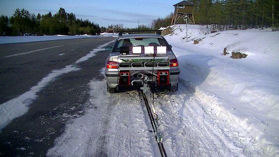 Systemet har også blitt utsatt for omfattende testing under vinterforhold.