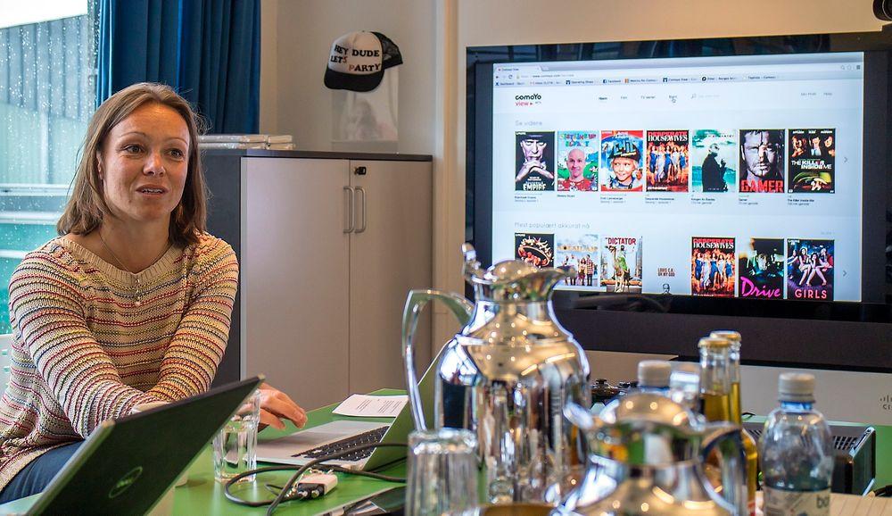TV-sjef: Karianne Melleby er ansvarlig for TV-tjenestene i Comoyo