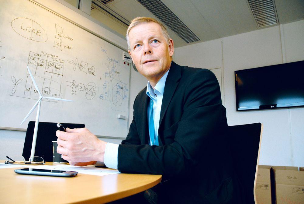 Det hjelper ikke å ha konsesjon hvis man ikke har lønnsomhet, sier Siemens' vindkraftsjef i Norge, Tore Tomter.