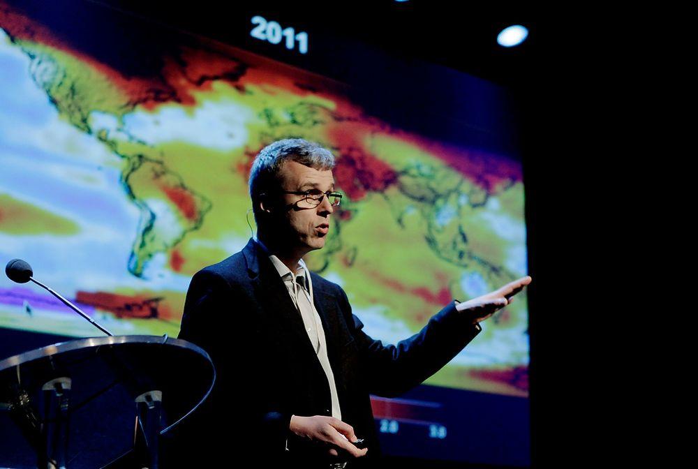 Forsker Helge Drange i Bjerknessenteret for klimaendringer advarer mot puslete klimatiltak. FOTO: Universitetet i Bergen