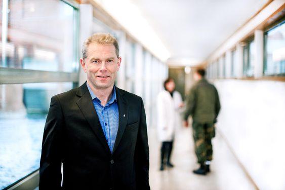 John-Mikal Størdal administrerende direktør ved Forsvarets forskningsinstitutt FFI