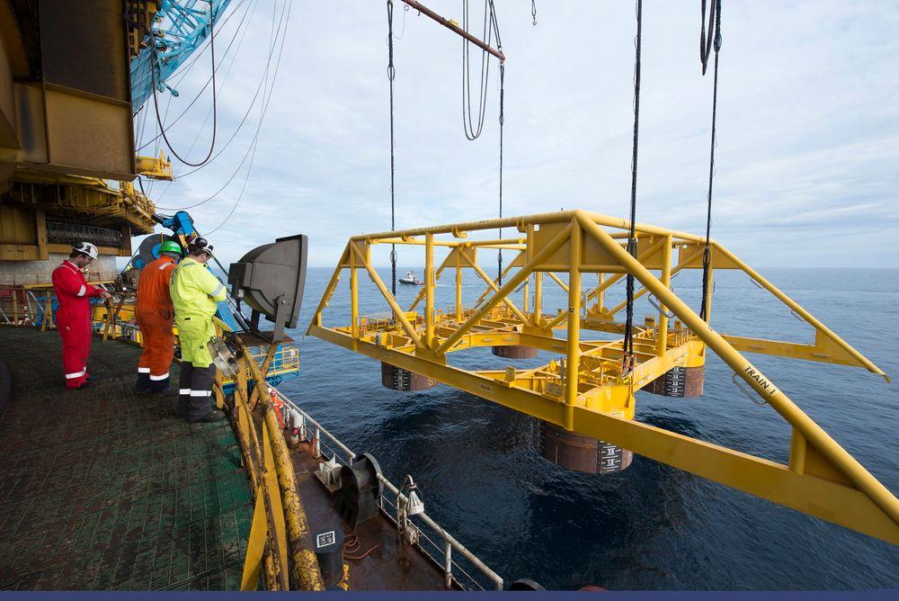 Subsea-kostnadene har steget 300 prosent de siste åtte årene. Illustrasjonsfoto av Åsgard gasskompresjon.