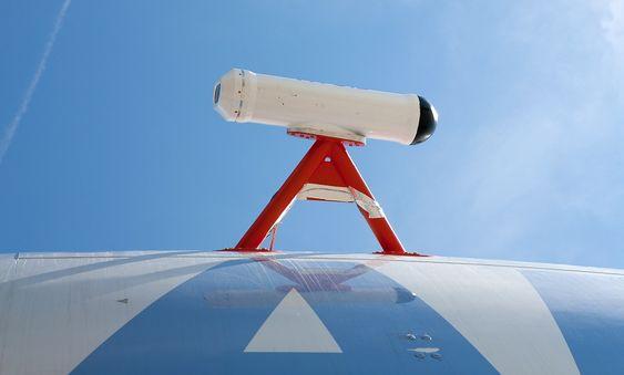 Aviod-kameraene er på testflyet montert på skroget, men skal selvsagt integreres på det ferdige systemet.