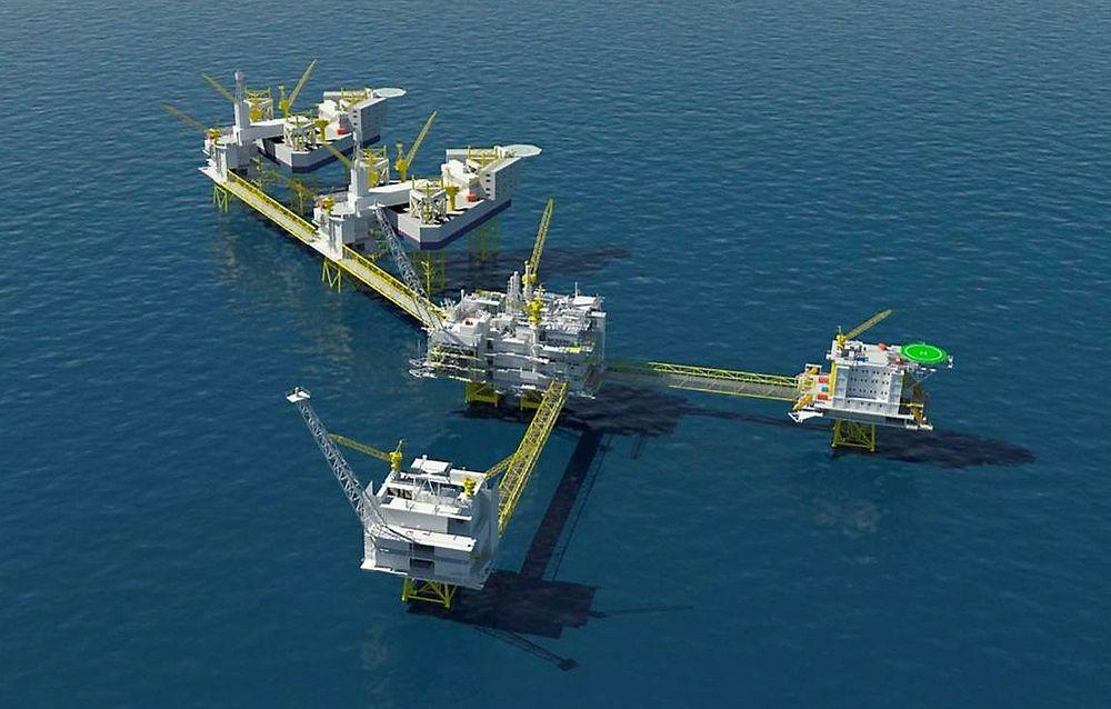 Gigant: Johan Sverdrup-feltet kommer til å produsere 516.000 fat olje om dagen. Det er fem ganger så mye som Valhall gjorde i sin glansperiode.