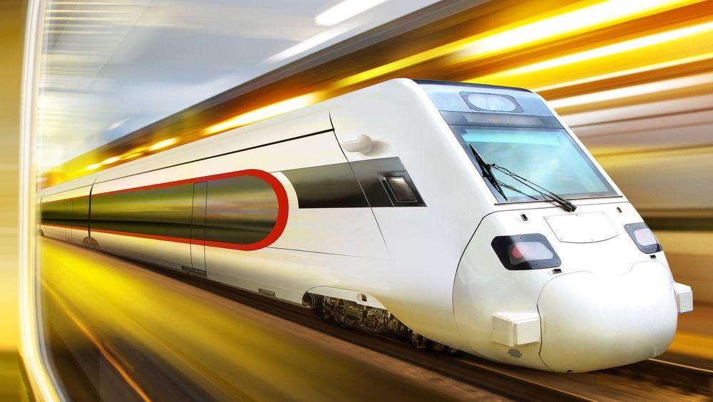 Nye materialer og bedre motorer skal gjøre energiforbruket i skinnegående transport lavere i årene fremover.