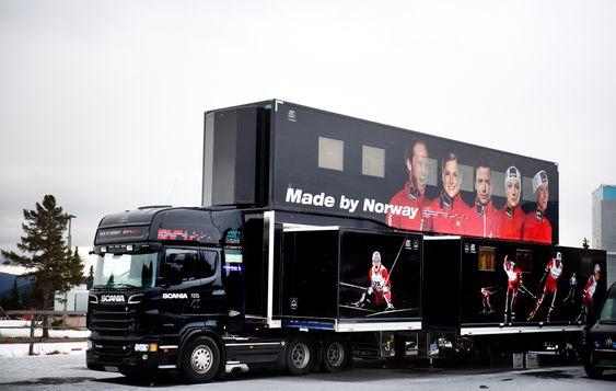 Norges nye smøretrailer. Foto: Eirik Helland Urke