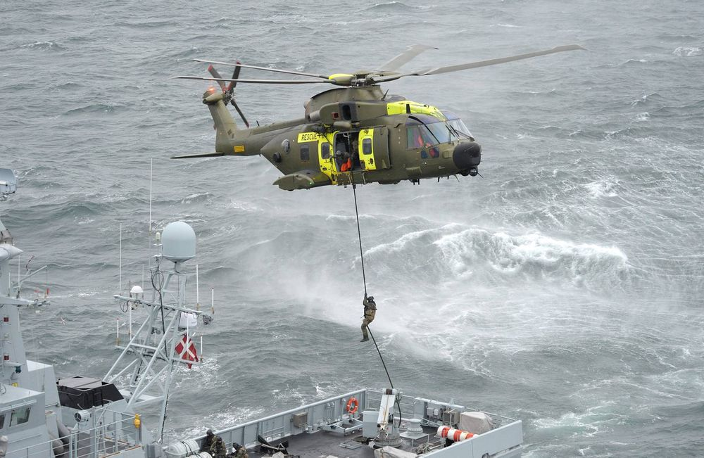 Agusta Westland AW101 blir Norges nye redningshelikopter.