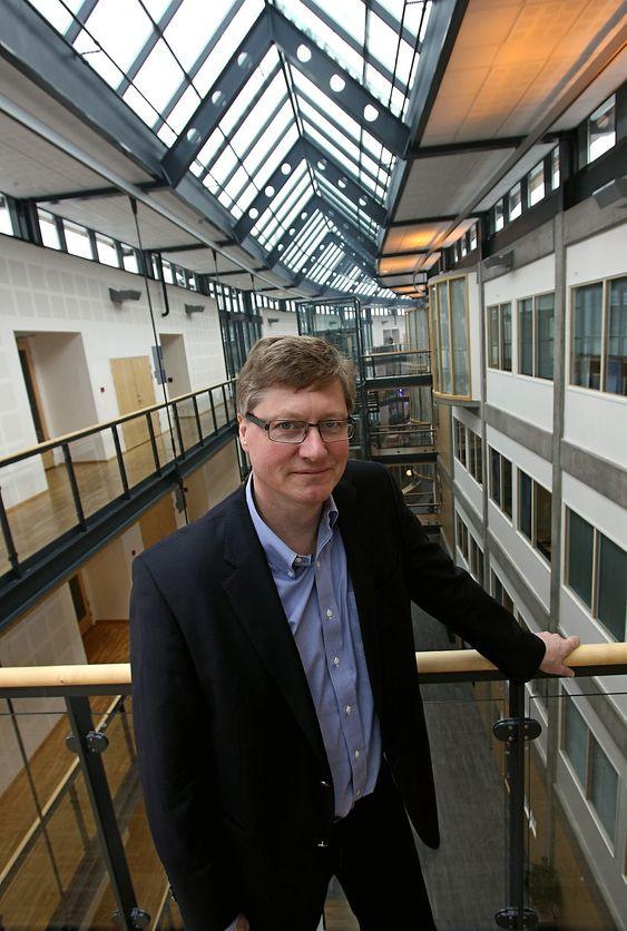 Geir Espen Schmidt er direktør for AUV-virksomheten i Kongsberg Maritime