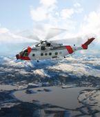 330-skvadronens nye AW101 redningshelikoptre