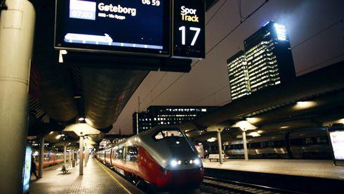 Svenskene har bygget for 200 km/t. Det er bare for Norge å koble seg på