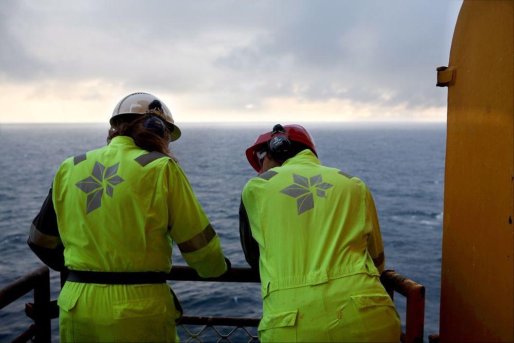 GØY PÅ HAVET: Skal vi tro arbeidslivsforskere, har offshorearbeidere i 2-4-rotasjon klare fordeler sammenlignet med andre skiftarbeidere.