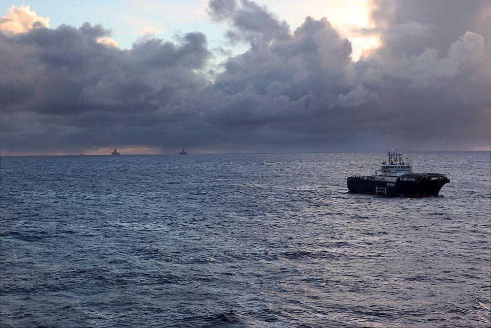 Nordsjøen: Tor Even Aas disputerer med en avhandling om den reverserte prosessen av deformering av havbunnsflater. Illustrasjonsfoto: Peder Qvale