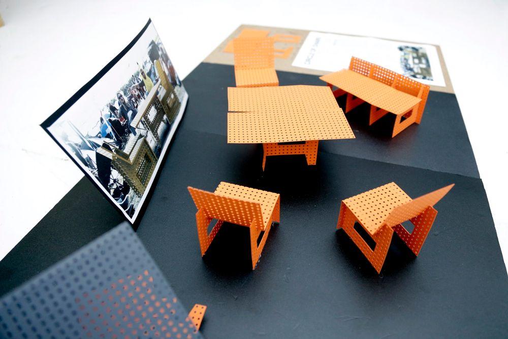 Gruppen Circle of Life vant med ideer til møbler i nedbrytbare materialer.