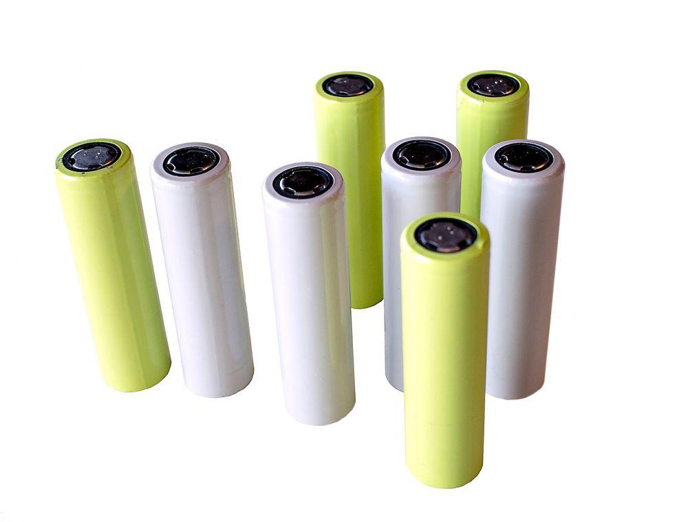 Gjenganger: Dette er selve arbeidshesten som svært mange litiumionebatterier er bygget opp av. Den såkalte 18650-cellen er standardisert.