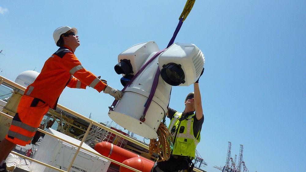 Viktig brikke: Aptomars sensorer skal medvirke til økt sikkerhet i Nordsjøen.