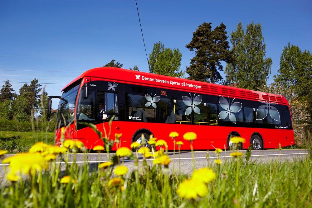 Miljøbusser av mange forskjellige typer vil prege Oslos gater i 2020.
