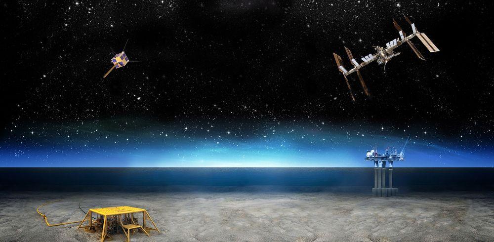 Romfart til Stavanger: Mars Institute etableres i Stavanger for å få et tettere samarbeid med norsk petroleumsteknologi.    Illustrasjon: Space & Energy