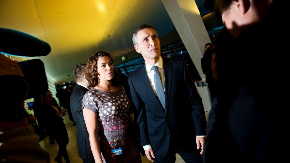 Nyfrelst: NHO-sjef Kristin Skogen Lund er en større tilhenger av mange nye utenlandskabler enn statsminister Jens Stoltenberg. (Foto: Scanpix)