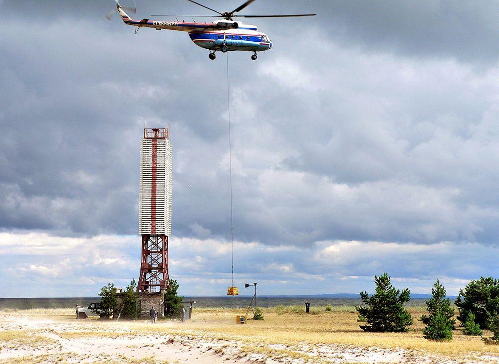 Fjernet: De radioaktive kildene har blitt transportert til Majak-anlegget i Syd-Ural for håndtering og avfallsbehandling.