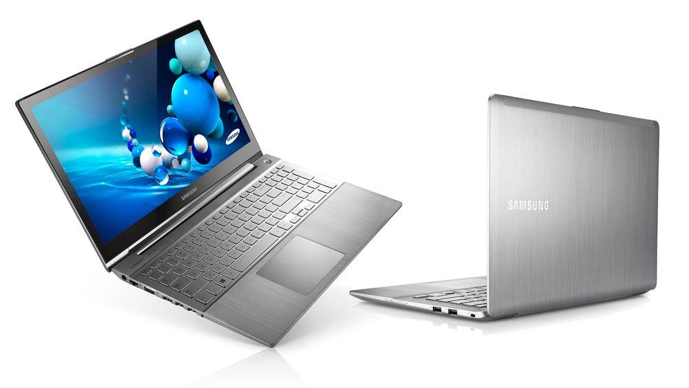 Samsung Series 7 Chronos (t.v.) og Series 7 Ultra.