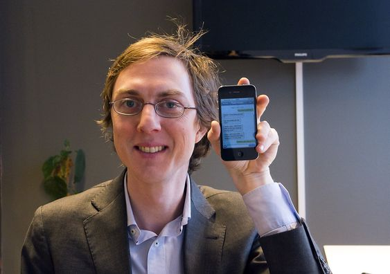 Gruppesjef: Sjefen i SMSgrupp, Martin Jacobsen vi gi nordmenn tilgang til gruppemeldinger på SMS og gjøre den gamle tjenesten til noe mer enn meldinger mellom enkeltpersoner.