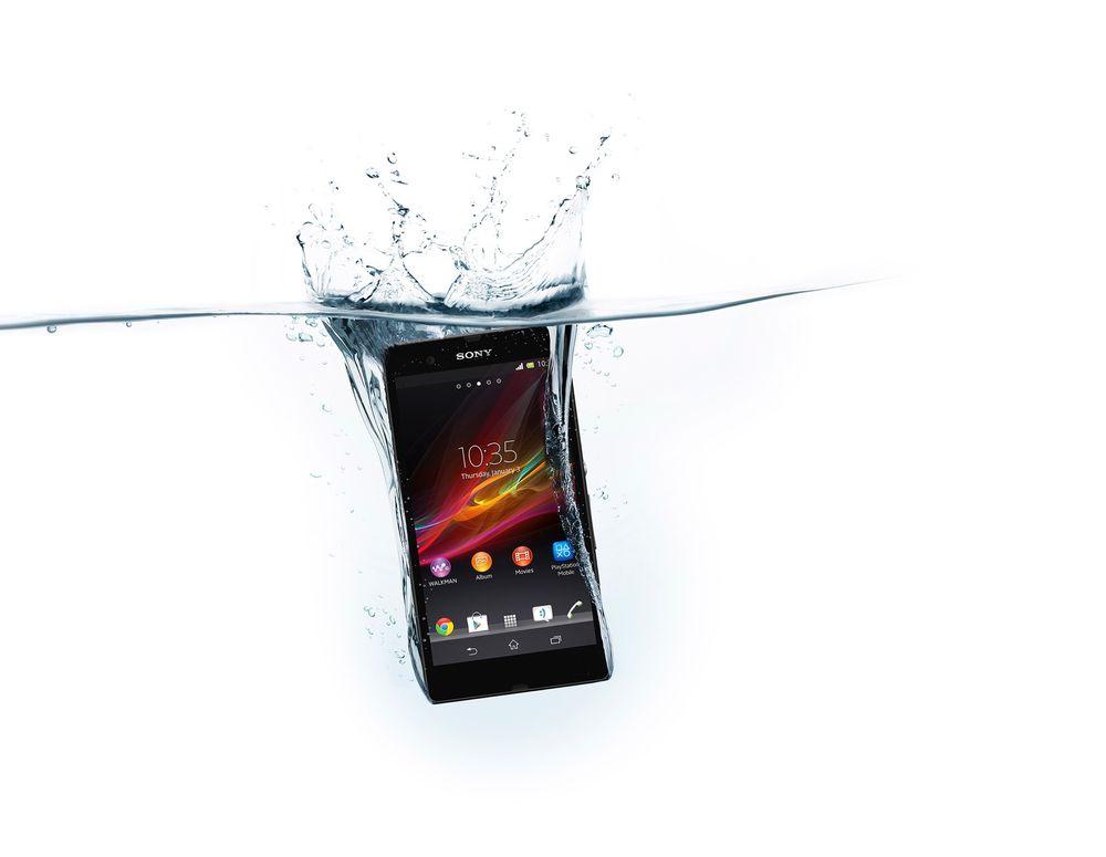 Sony Xperia Z.