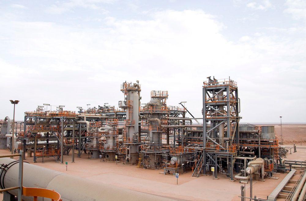 NYE TRUSLER: Statoil er også operatør på Algeries tredje største gassfelt, In Salah (bildet), og driver leting ved Hassi Mouina-feltet.