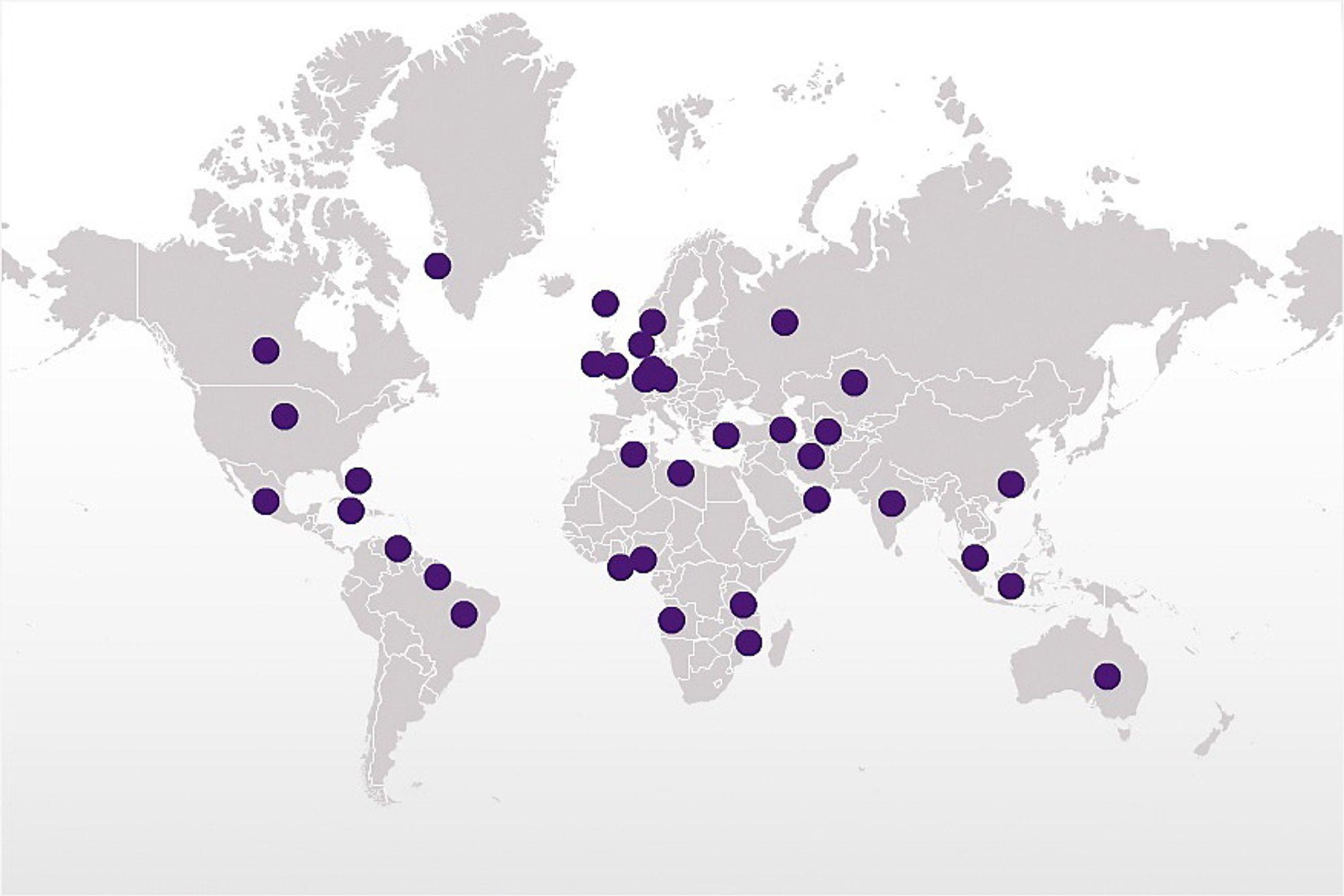 Statoil er til stede i over 36 land. Nå etterlyses en debatt rundt hvillken risiko selskapet bør ta.