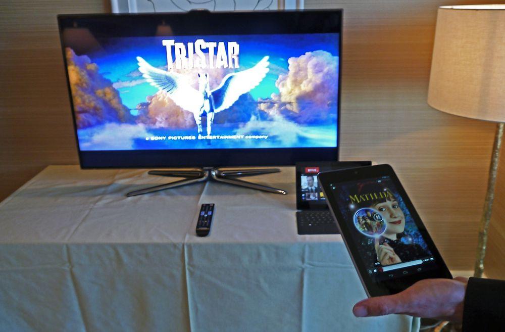 Second screen: Mobilen er pekt ut som et viktig hjelpemiddel i fremtidens Netflixopplevelse