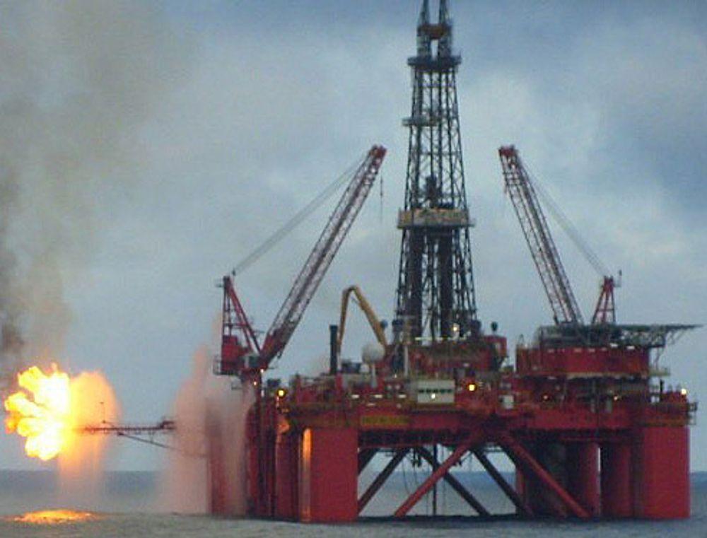 Riggen Bredford Dolphin borer avgrensningsbrønnen på Avaldsnes-funnet i PL 501.