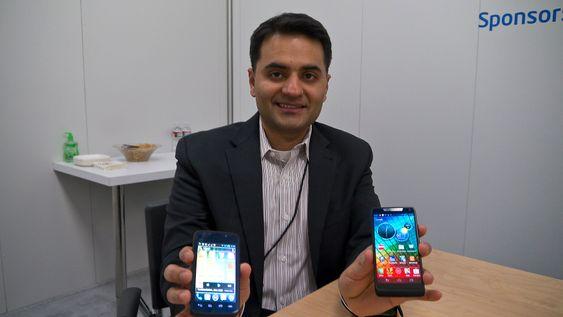 Tar opp konkurransen: Intels markedssjef for Atom-plattform, Sumeet Syal, vi ha sin bit av prosessorleveransene til mobilmarkedet og er godt fornøyd med utviklingen så langt.