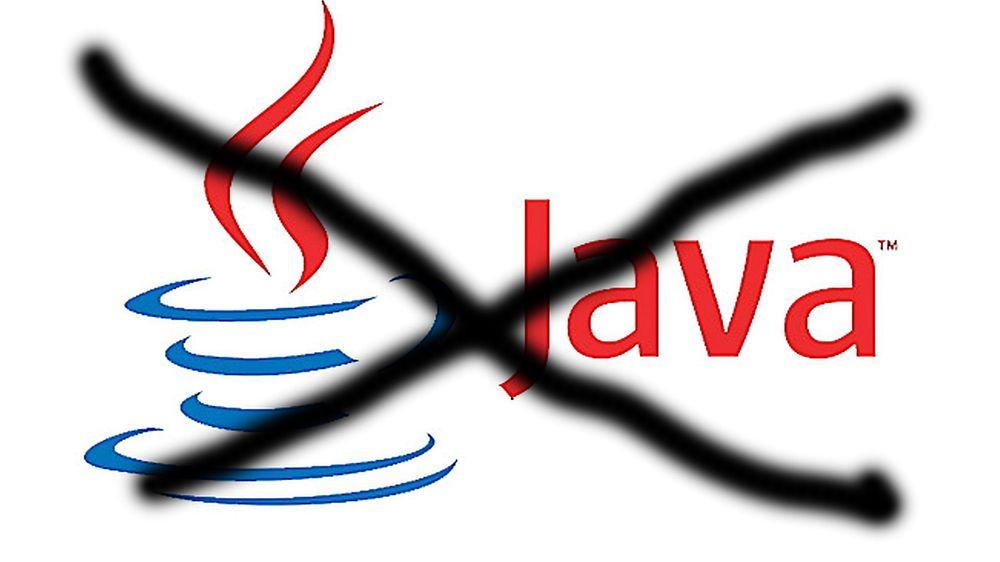 Bort me'n: Java i nettleseren kommer til å være et sikkerhetshull i fremtiden også, mener ekspert. Bankene bør klare seg uten