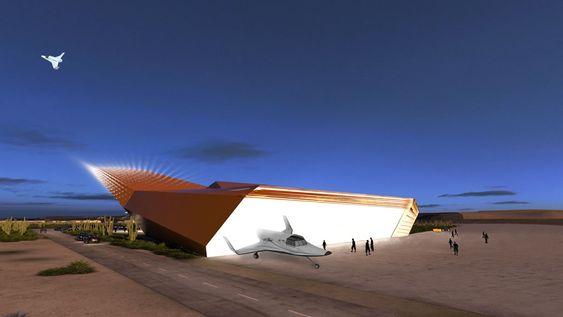 Selskapet SXC har store planer for kommersiell romferd med rakettflyet  Lynx Mark II.
