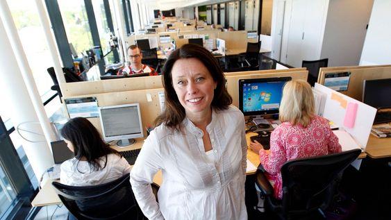 Hege Skryseth, administrerende direktør i Microsoft Norge